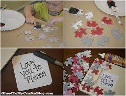 love you to pieces father u0027s day kids craft idea a night owl blog