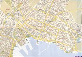 volos map maps of greece