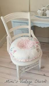 Shabby Chic Chair by Shabby Romantic Cottage Chic Dreamy White Ruffles Pillow Sham
