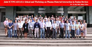2016 joint ictp cas iaea and workshop on plasma material