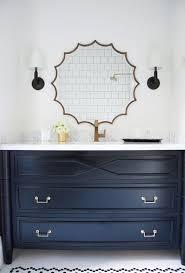 Navy Blue Bathroom Vanity Best 25 Blue Vanity Ideas On Pinterest Bathroom Pertaining To