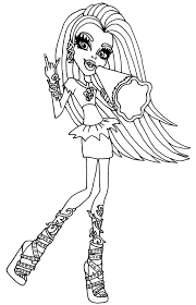 Spirit Halloween Monster High by Monster High Venus Coloring Pages Getcoloringpages Com