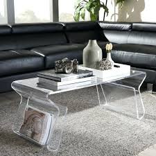 lucite waterfall coffee table acrylic coffee tables tables acrylic coffee tables for sale
