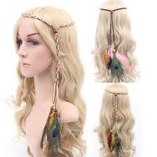 hippie hair accessories women girl festival feather headband hippie headband hair