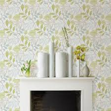 Stick And Peel Wallpaper by Wallpops Meadow Grey U0026 Green Peel U0026 Stick Wallpaper L 5 5m W