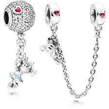 pandora bracelet chains images Pandora disney floating minnie charm and climbing mickey safety jpg