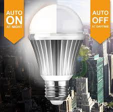 Westek Slc6cbc 4 100w Programmable by Onkron Led Dusk To Dawn Bulb 4 Pack Sensor Light Bulb A19 6w Warm