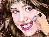 miley cyrus celebrity makeup