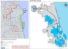 Chicago Ward Map Mayor U0027s Plan For Increased Density Neighborhood Investment Passes