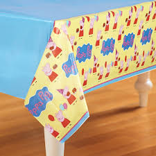 peppa pig birthday supplies peppa pig tablecover simply boutique party supplies