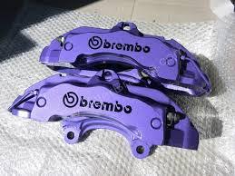 porsche purple porsche cayenne brembo 6 pot 18z calipers cadbury purple