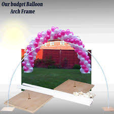 Wedding Arch Ebay Uk Balloon Frame Ebay