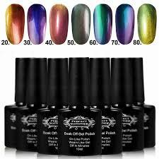 perfect summer nail art set soak off gel polish gel nail kit nail