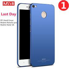 Redmi Note 5a Msvii Brand For Xiaomi Redmi Note 5a Pro Plastic Material