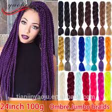 how much is expression braiding hair 24 100g expression jumbo braiding hair ombre braiding hair