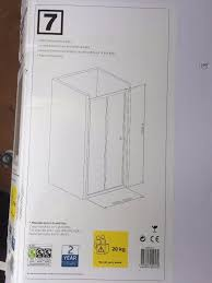 B Q Shower Doors by New B U0026q Plumbsure Bi Fold Shower Door W 760mm New Boxed With