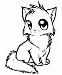 cute animals pictures color print cute cat coloring pages