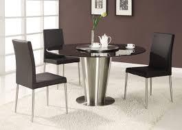 Kitchen Pedestal Table Rustic Modern Round Kitchen Table Dining Tables Dining Room