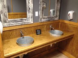 bathroom sinks ideas hurry galvanized bathroom sink ideas for the