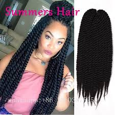 havana twist hairstyles synthetic crochet hair extension 18inch senegalese twist hair
