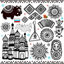 Russian Flag Black And White 11 935 Russian Flag Cliparts Stock Vector And Royalty Free