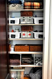 mission organization linen closet teeny ideas