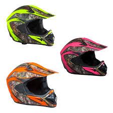 camo motocross helmet shc sh or realtree xtra camo helmet atv mx off road