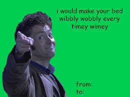 dr who valentines day cards doctor who dw sherlock supernatural my post spn valentines day