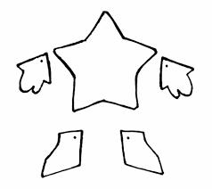 printable star airbrush template nextinvitation templates clip