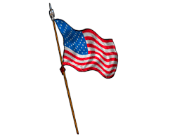 Small Flag Pole Waving American Flag On Pole Clipart Free Clip Art Images Image 4805