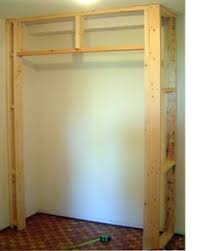 how to build a bedroom how to build a closet in an existing room for the home