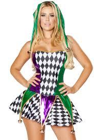 Court Jester Halloween Costume Green Purple Womens Court Jester Skirt Costume Ebay