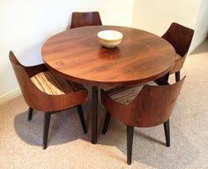 mid century modern round dining table trend as dining room table