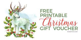 printable christmas gift vouchers free christmas gift voucher printable update rossi fox