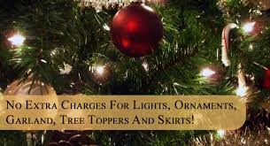 artificial christmas tree rental st petersburg