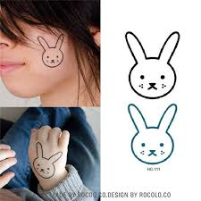 45 best cartoon bunny tattoo images on pinterest bunnies bunny