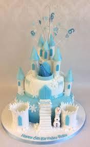 56 best cakes images on frozen castle cake recipes