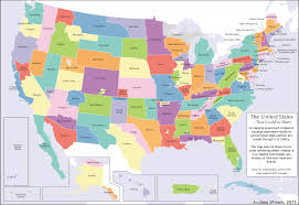 Map Of The Continental United States by Divided States Of America Tv Tropes