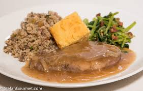 southern recipes smothered pork chops food next recipes