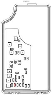 2007 sebring fuse box diagram 2007 chrysler sebring headlight fuse