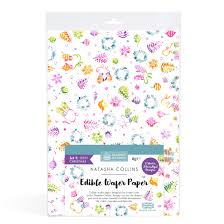 sk edible wafer paper by natasha collins ditzy christmas