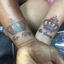 tattoo couple king and queen 100 best king queen tattoo designs from instagram sassy daily tattoo
