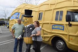 Planters Peanuts Commercial by Mr Peanut Has A Smooth And Creamy Ride Into Modesto The Modesto Bee