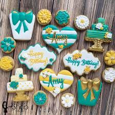487 best birthday sugar cookies images on pinterest birthday