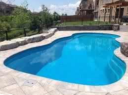 leisure pools toronto fiberglass swimming pool installations