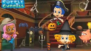 bubble guppies halloween learn the letters of the alphabet abc