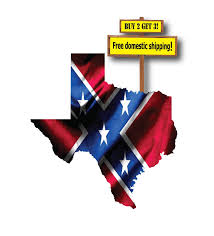 Confederate Flag Decals Truck Texas Confederate Dixie Flag Buy 2 Get 3 The Decal Barn
