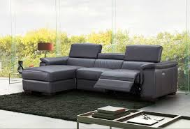 Leather Sectional Sofa Bed Premium Leather Sectional Sofa With Power Recliner Nj Ariana