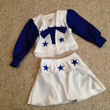 Cowboys Cheerleader Halloween Costume 40 Dallas Cowboys Cheerleader Toddler 3t