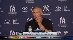 joe girardi on aaron hicks jordan montgomery and gary sanchez
